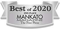 Best of 2020 - 2nd Best Bank/Credit Union